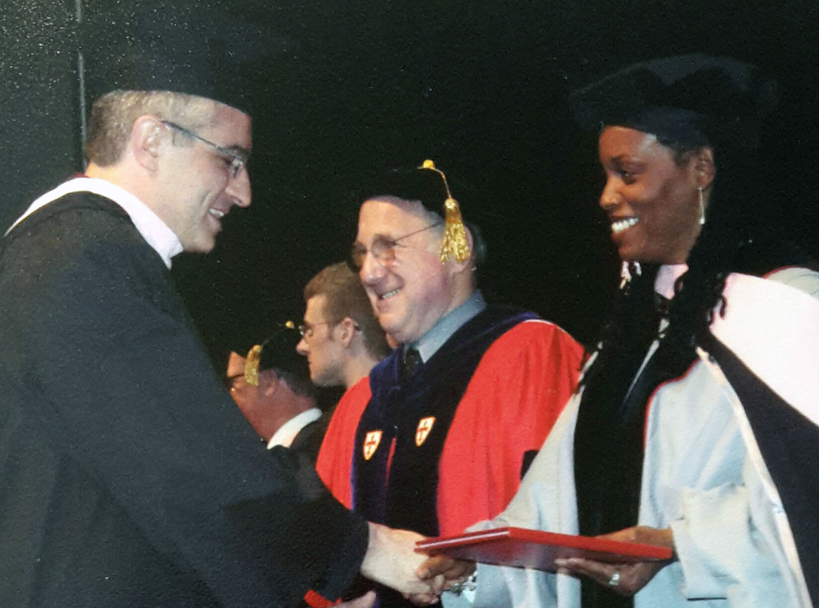 with Dianne Reeves, Berklee College of Music (Spring 2003)